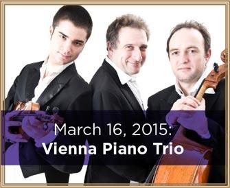 March 16, 2015: Vienna Piano Trio