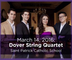 Dover Quartet - March 14, 2016