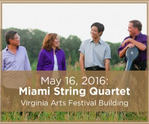 Miami String Quartet May 16, 2016